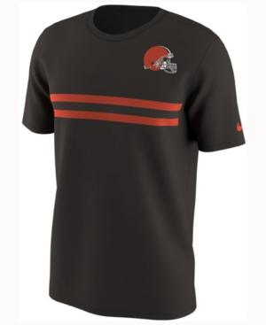 Nike Men's Cleveland Browns Color Rush Stripe T-Shirt