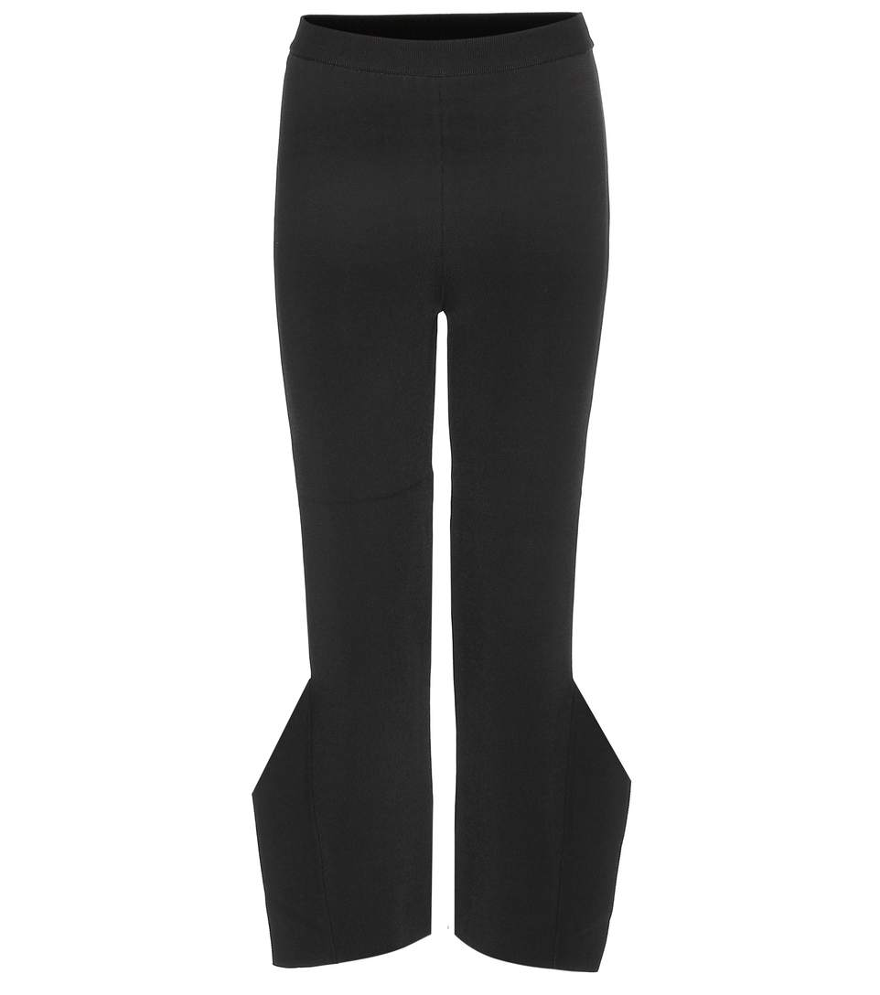 Stella Mccartney 'strong Shapes' Knit Winged Pants