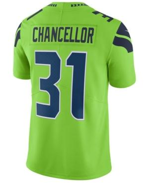 Nike Men's Kam Chancellor Seattle Seahawks Limited Color Rush Jersey In Green