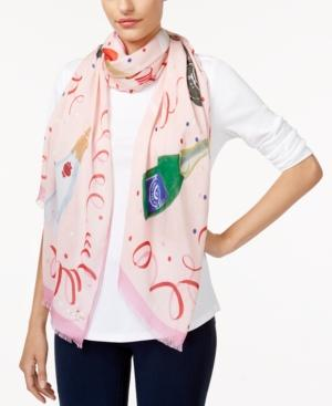 c6605d68450c Kate Spade Champagne Oblong Scarf In Pink Champagne | ModeSens