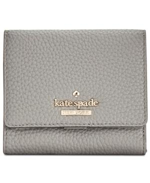 0e16666bc3c3 Kate Spade New York Jackson Street Jada Pebbled Leather Trifold Wallet In  Willow