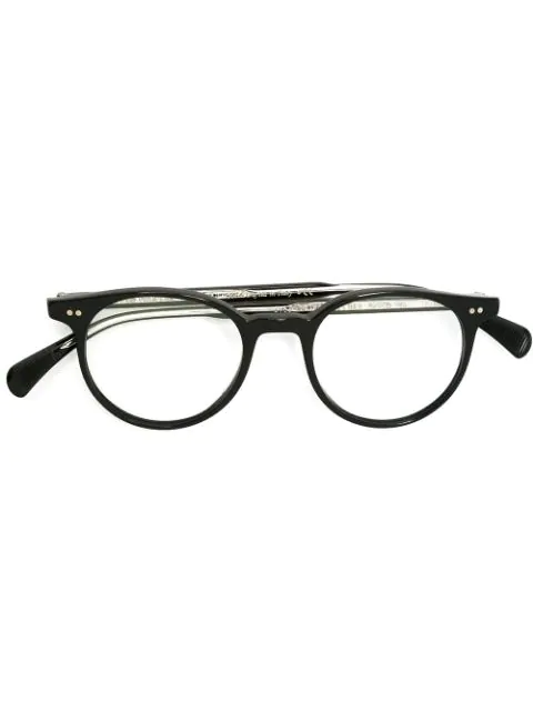 Oliver Peoples 'gregory Peck' Glasses In Black