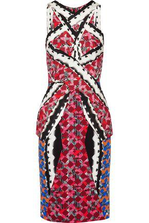 Peter Pilotto Woman Printed Crepe Dress Multicolor