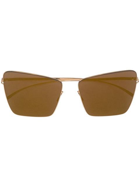 Mykita X Maison Margiela Sunglasses In Metallic