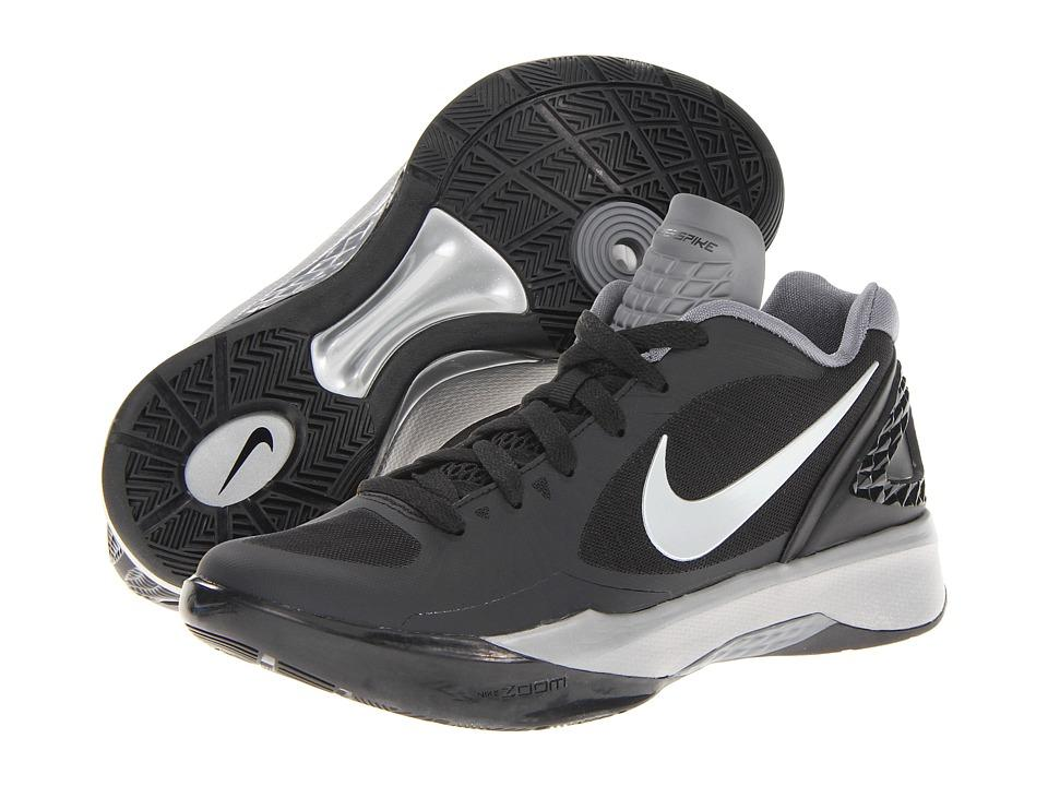 flojo Pórtico compañera de clases  Nike - Volley Zoom Hyperspike (black/white/metallic Silver) Women's Volleyball  Shoes   ModeSens