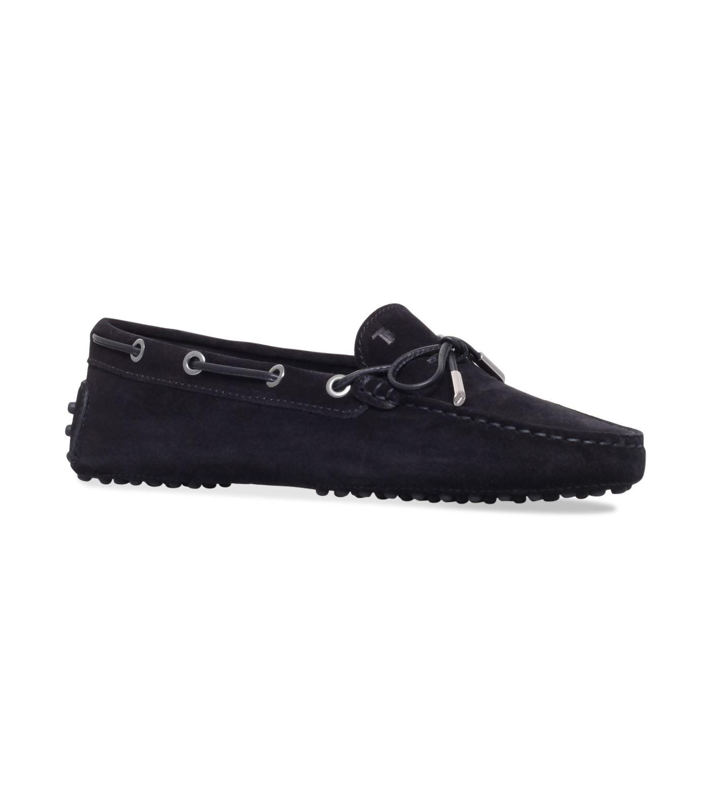 Tod's Gommino Heaven Laced Driving Shoes In Black