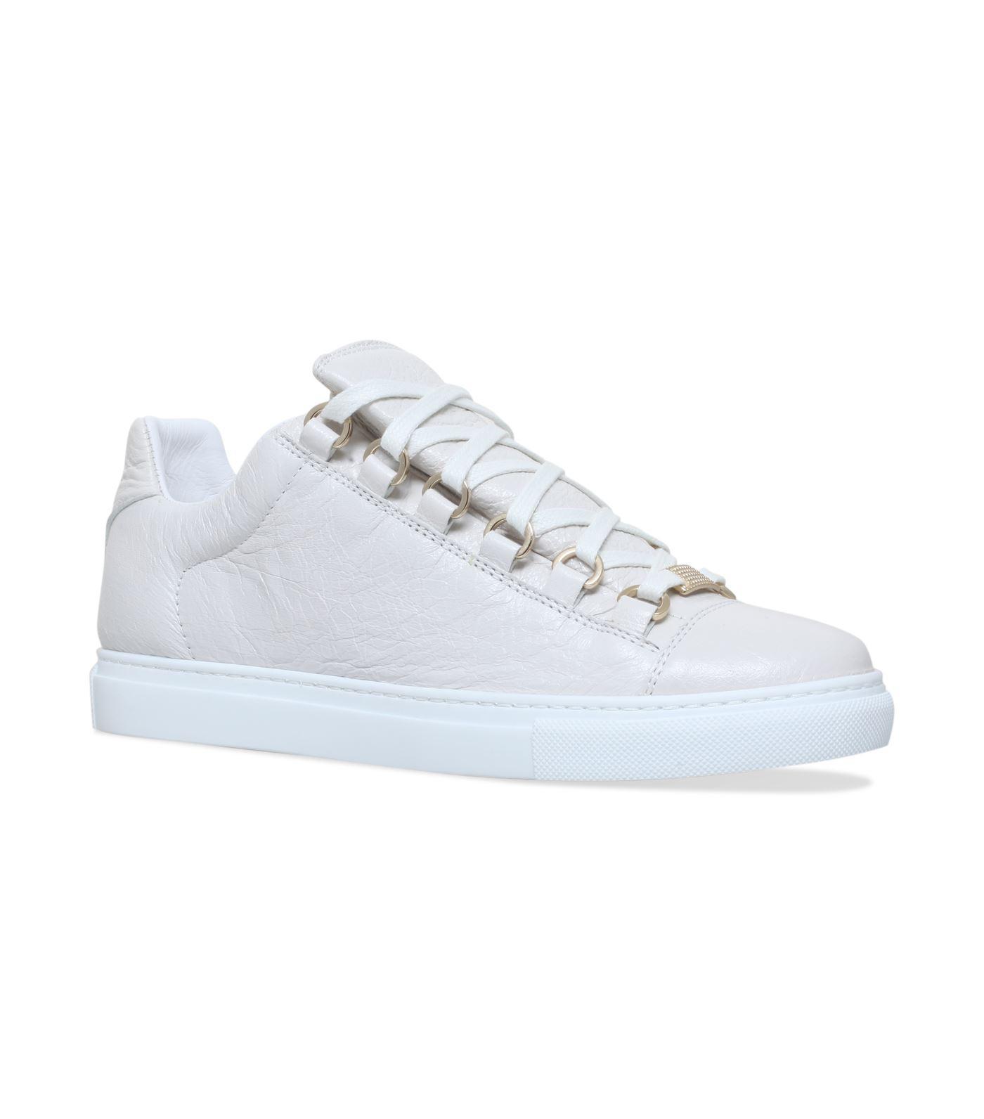 c79efad851da Balenciaga Ladies White Arena Leather Sneakers