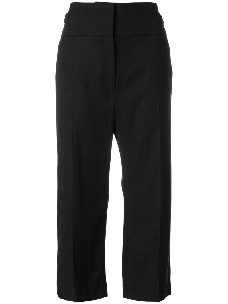 Haider Ackermann Cropped High Waist Trousers