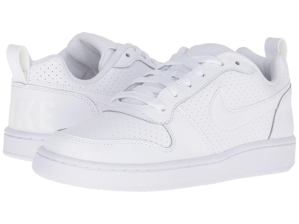 pretty nice 03c14 6a71d Nike - Court Borough Low (White White White) Women s Lace Up Casual
