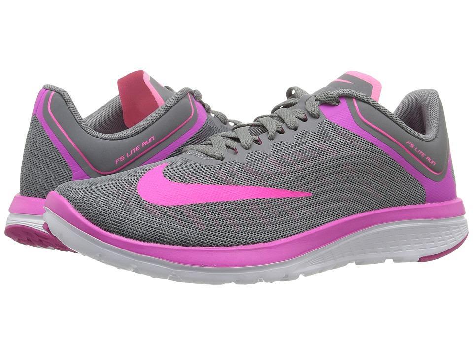 online store 6f8a3 e9b6a Nike - Fs Lite Run 4 (Cool Grey Fire Pink White Pink