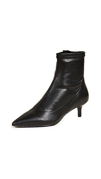 67a4ba0f03 Free People Marilyn Kitten Heel Bootie In Black | ModeSens