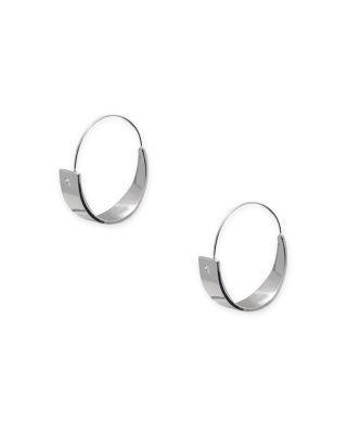 52f009071223d Lauren Ralph Lauren Hoop Earrings in Silver