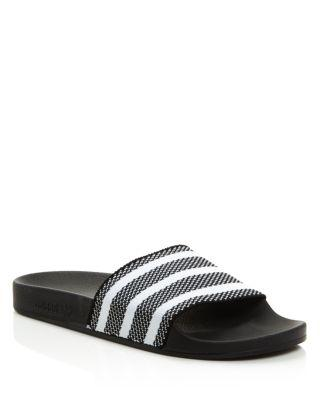 9f0d6ccf9 Adidas Originals Women s Adilette Pool Slide Sandals In Black