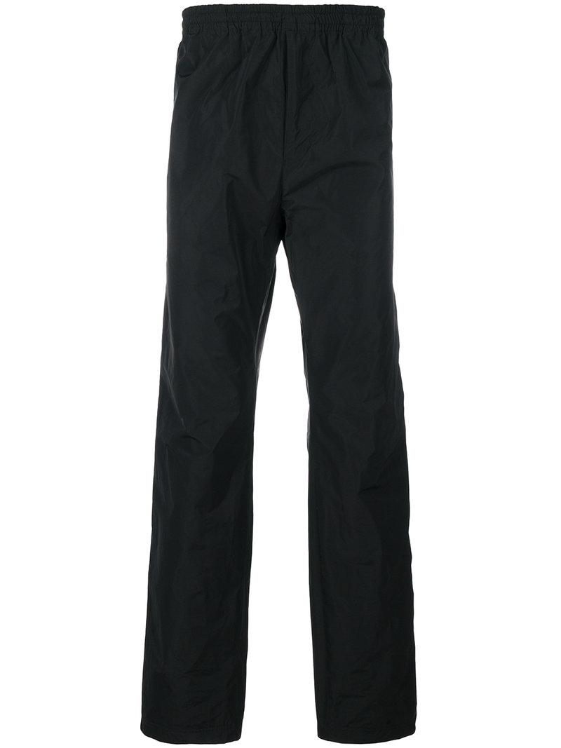 White Mountaineering Track Pant Trousers  In Black