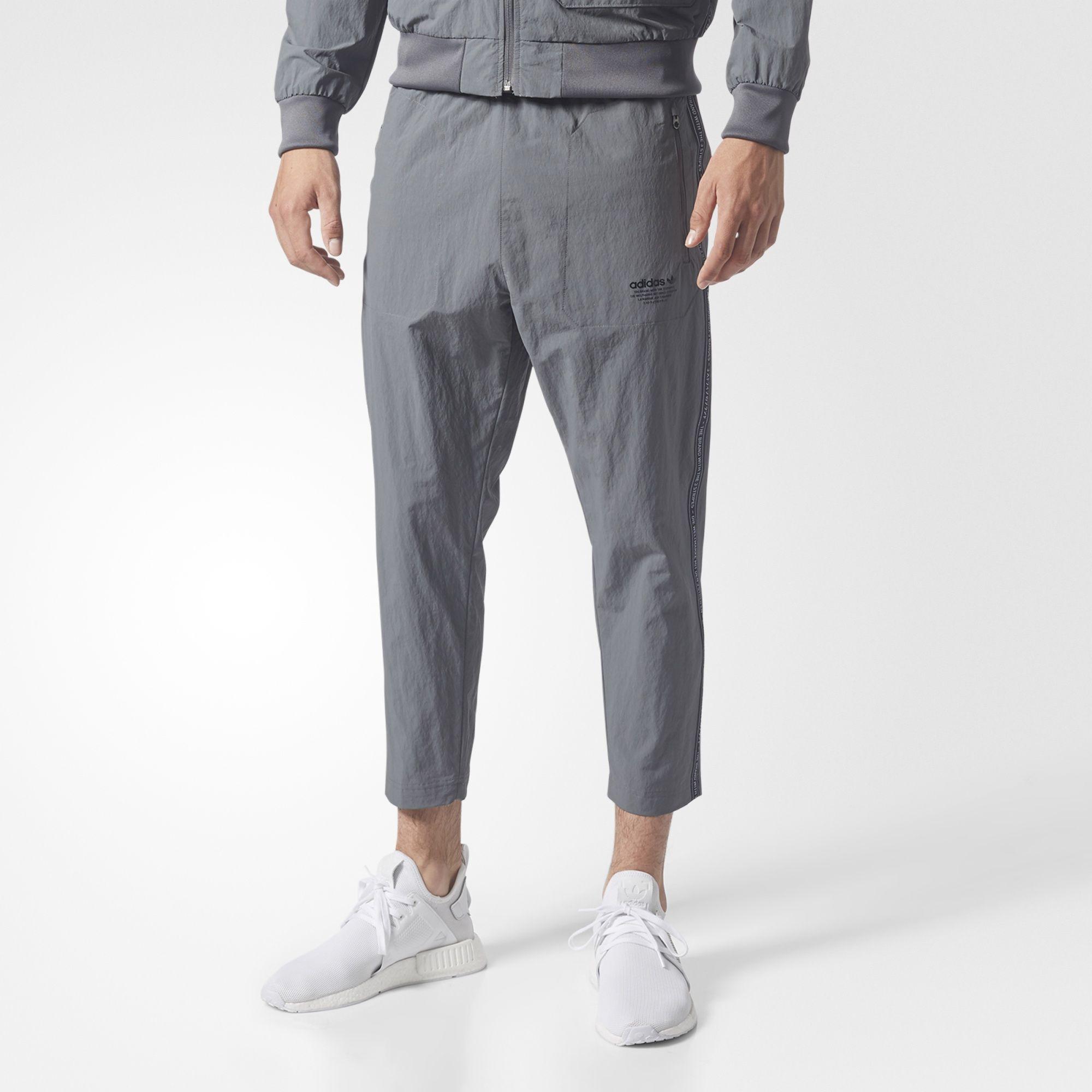 adidas utility 7 8 track pants