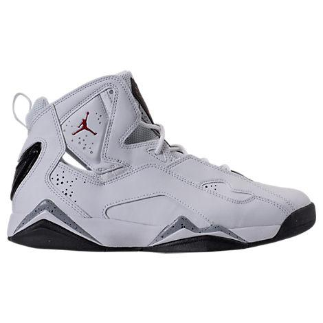 wholesale dealer f25f0 b40b6 Nike Men s Jordan True Flight Basketball Shoes, White