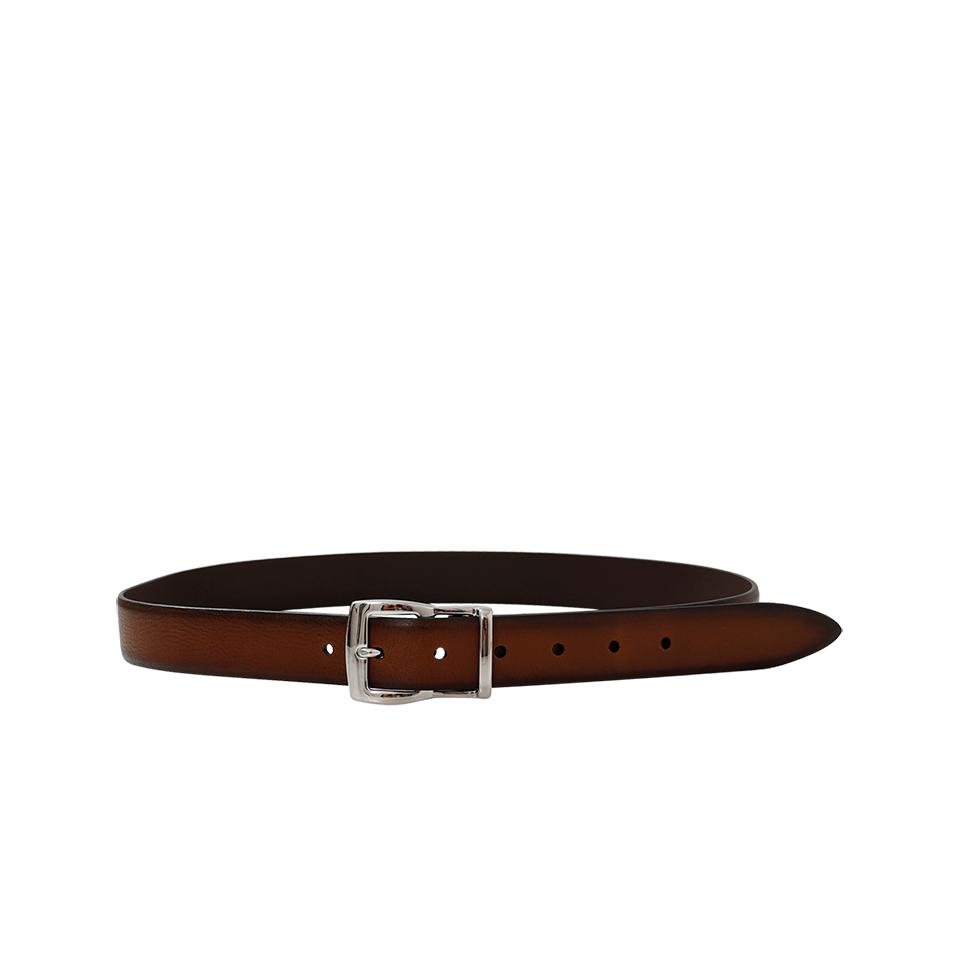 Brunello Cucinelli Leather Belt In Brown