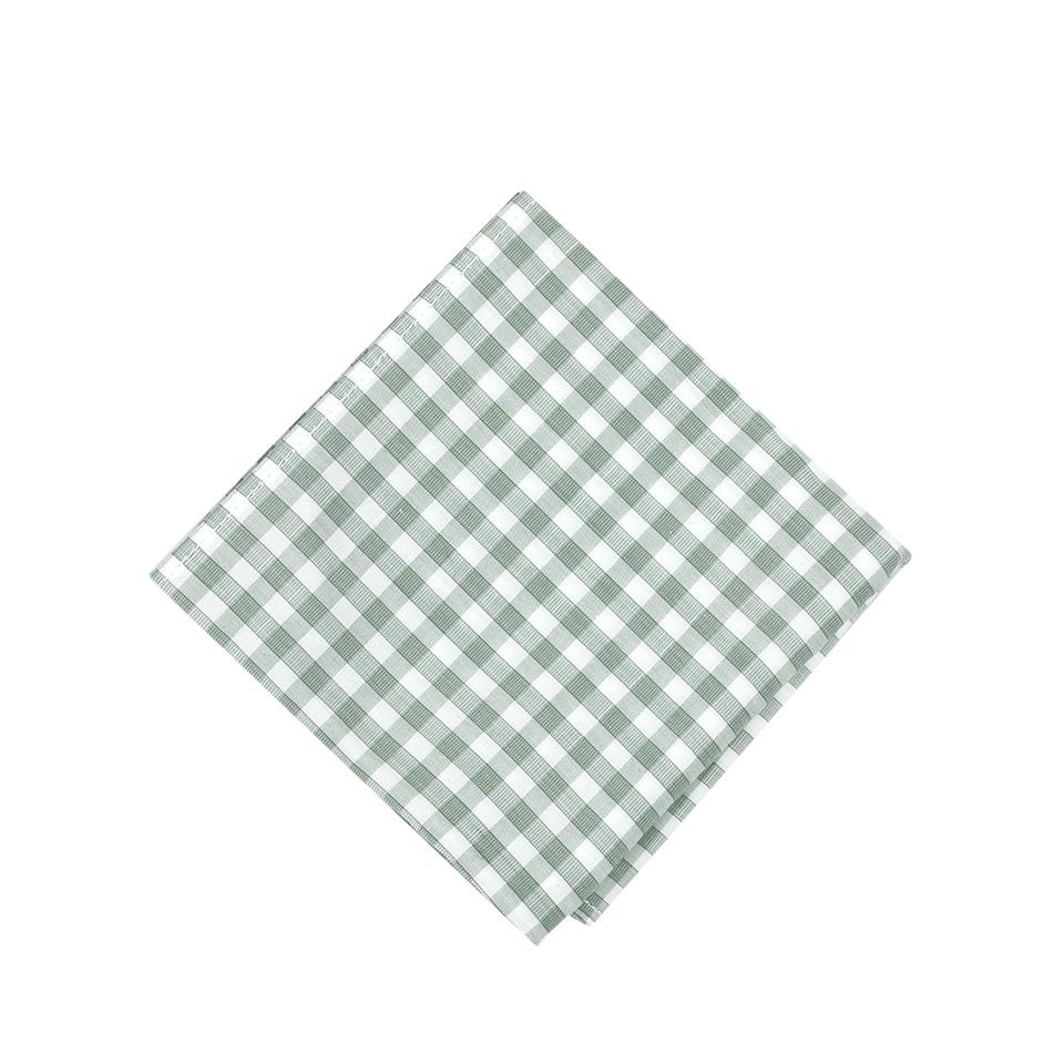 Brunello Cucinelli Oxford Check Pocket Square In C050
