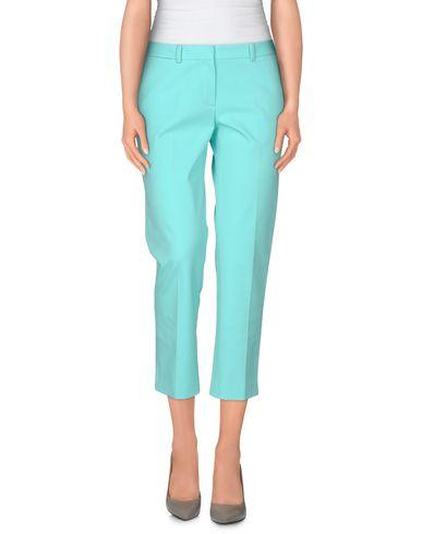 Elie Tahari Cropped Pants & Culottes In Light Green