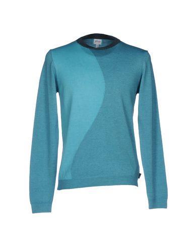 Armani Collezioni Sweaters In Turquoise