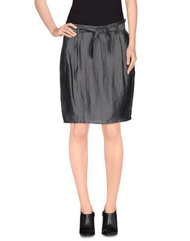 Armani Collezioni Knee Length Skirt In Lead