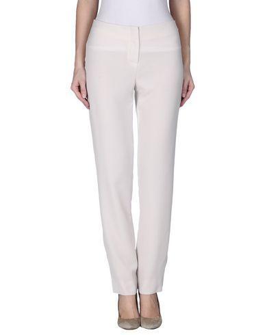 Armani Collezioni Casual Pants In Ivory