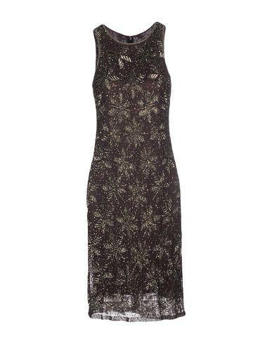 Armani Collezioni Knee-length Dress In Dark Brown