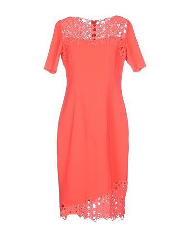 Elie Tahari Knee-length Dress In Coral