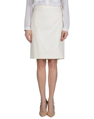 Armani Collezioni Knee Length Skirt In Ivory