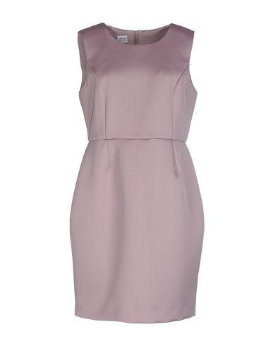 Armani Collezioni Short Dress In Dove Grey
