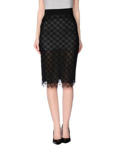 Francesco Scognamiglio 3/4 Length Skirt In Black