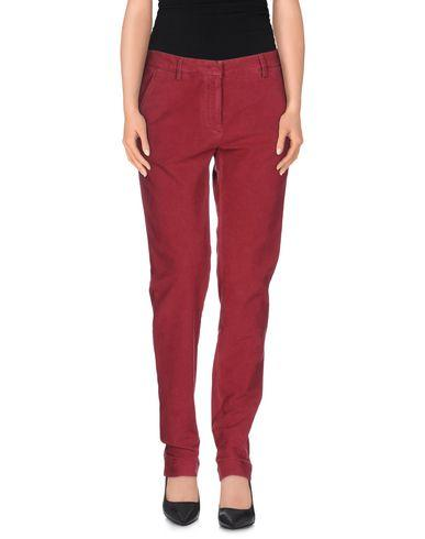 Incotex Casual Pants In Maroon
