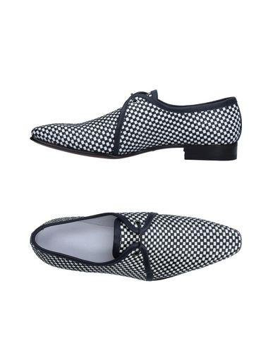A.testoni Lace-up Shoes In Black