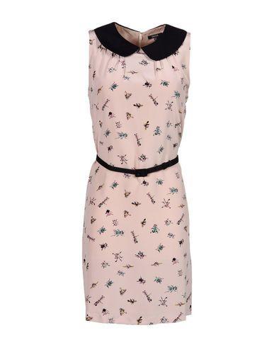 Raoul Short Dress In Light Pink