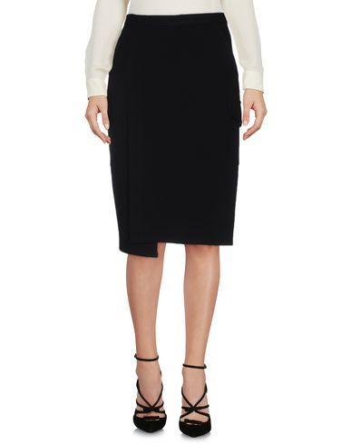 Costume National Knee Length Skirt In Black