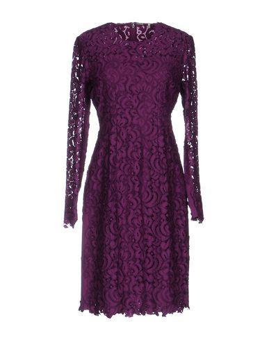 Elie Tahari Short Dresses In Purple