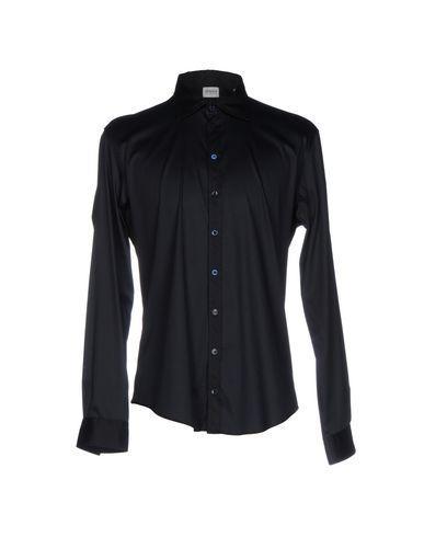 Armani Collezioni Shirts In Dark Blue