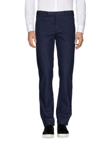 Armani Collezioni Casual Pants In Dark Blue