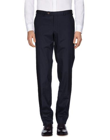Canali Casual Pants In Dark Blue