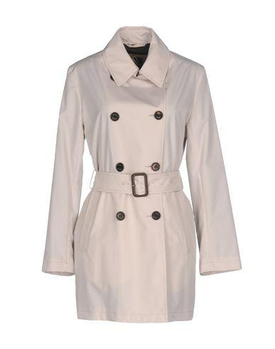 Sealup Belted Coats In Light Grey