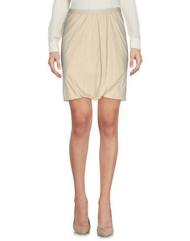 Rick Owens Knee Length Skirts In Beige