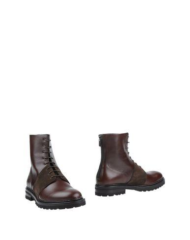 A.testoni Ankle Boots In Cocoa