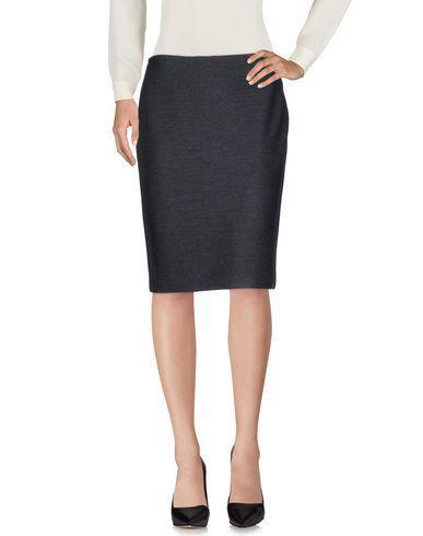 St. John Knee Length Skirt In Lead