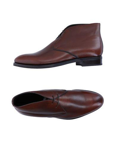 Canali Laced Shoes In Cocoa