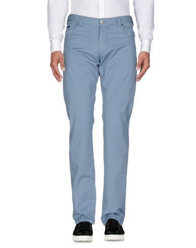 Armani Collezioni Casual Pants In Pastel Blue