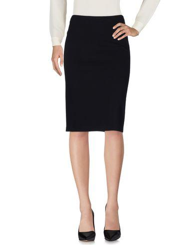 Armani Collezioni Knee Length Skirts In Black