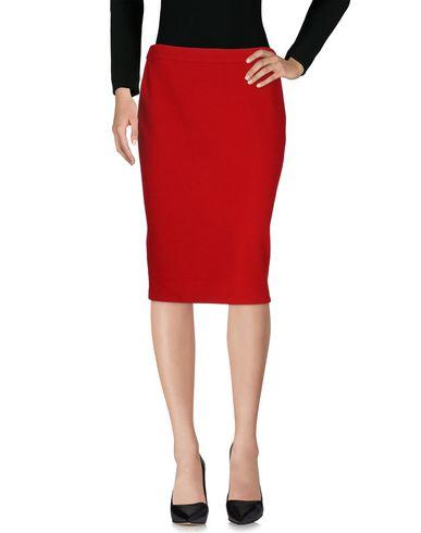 Armani Collezioni Knee Length Skirts In Red