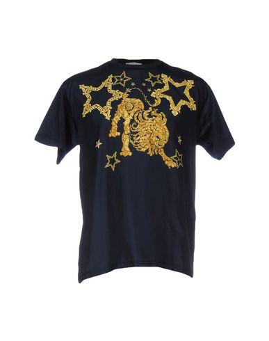 Versace T-shirts In Dark Blue
