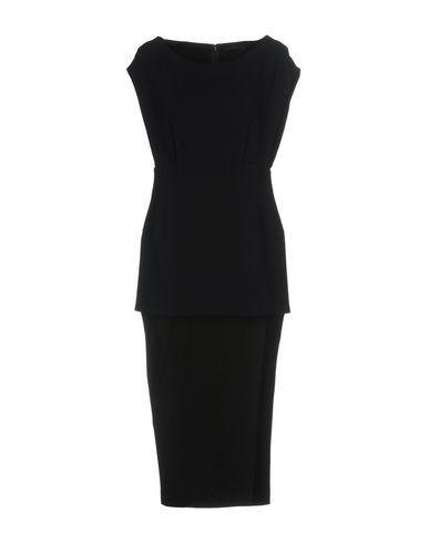 Donna Karan Evening Dress In Dark Blue