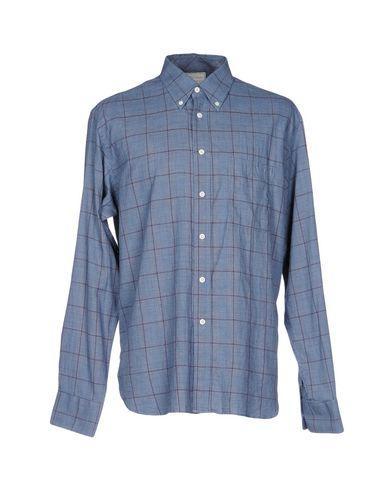 Billy Reid Shirts In Slate Blue